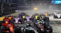 Afbeelding: Dit is de voorlopige startgrid voor de Grand Prix van Singapore