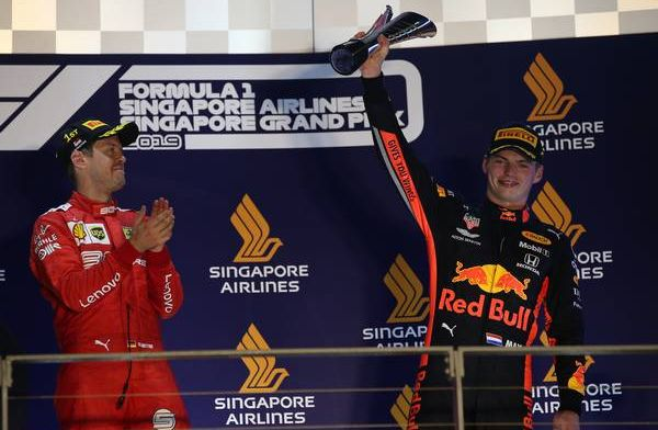 Verstappen after holding off Hamilton for podium: It was a good workout!
