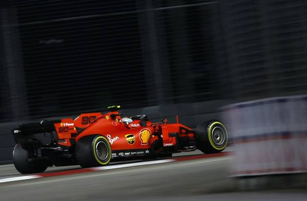 The drivers' standings following Vettel's win at the Singapore Grand Prix