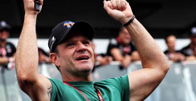 Rubens Barrichello keert terug op het podium in Formule racerij