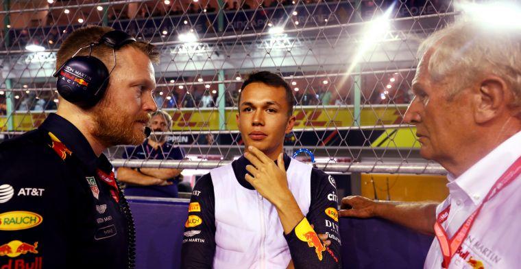 Albon: Werd duizelig van vijftig ronden achter een Mercedes rijden
