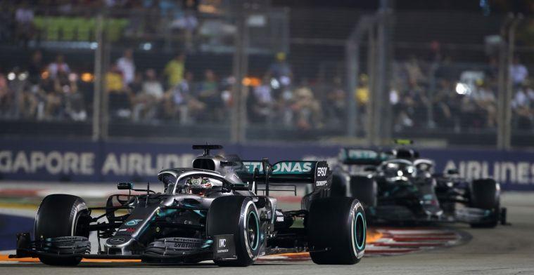 Hamilton is teleurgesteld in het team: We konden de race makkelijk winnen