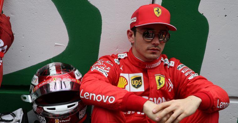 Leclerc baalt na P2 in Singapore: Als coureur zie je niet het volledige plaatje