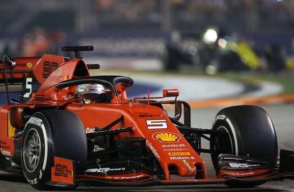 Vettel takes Singapore Grand Prix in famous Ferrari one-two!