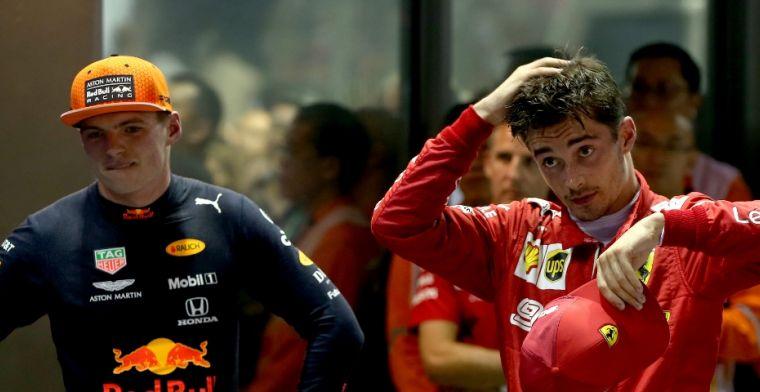 Lammers na successen Leclerc: Ik vind Verstappen nog altijd beter