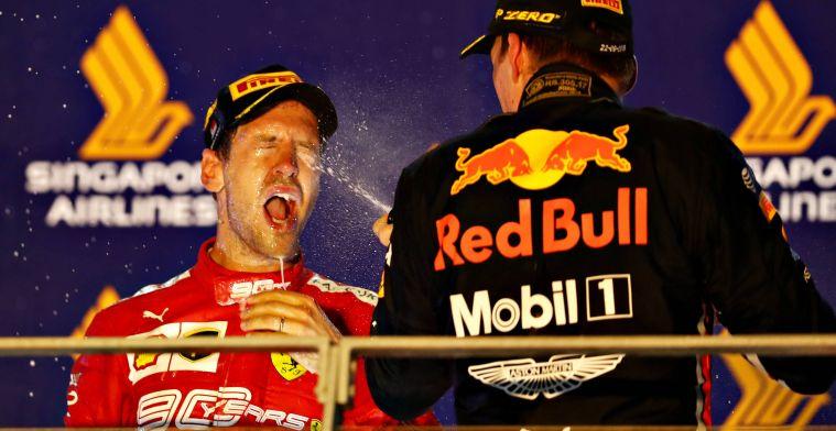 De zondag van GP Singapore: Consternatie bij Ferrari, Red Bull ontdekt probleem