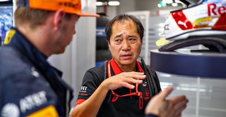 Honda prijst Verstappen: Zoals gewoonlijk was Max weer erg sterk