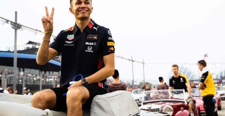 Stelling: Albon heeft in Singapore bewezen klaar te zijn voor Red Bull