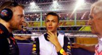 """Afbeelding: Albon: """"Werd duizelig van vijftig ronden achter een Mercedes rijden"""""""