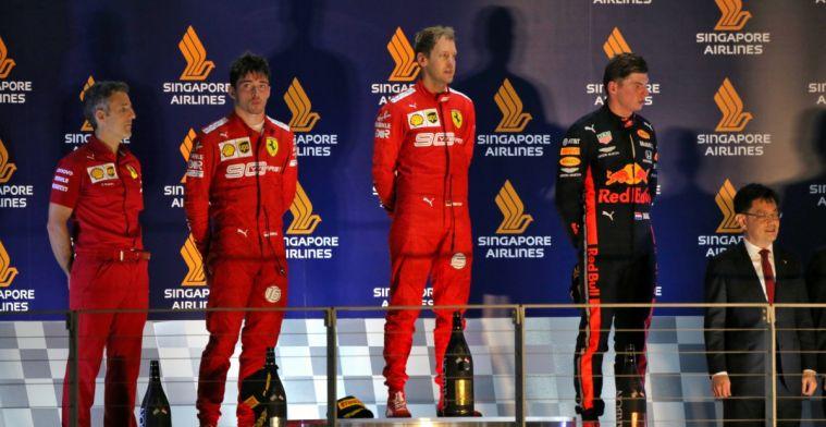 Rapportcijfers voor coureurs na de Grand Prix van Singapore