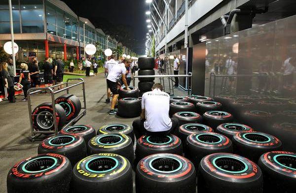 Dit waren de gebruikte bandenstrategieën in de GP van Singapore