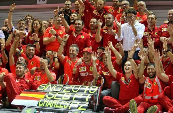'Ferrari deed een meesterzet in Singapore, maar dat ging ten koste van Leclerc'