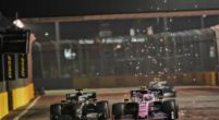 Image: Lance Stroll looks back at his 13th place finish in Singapore
