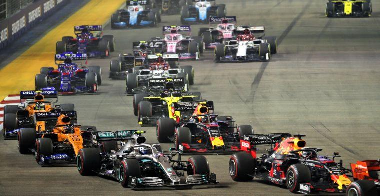 Brundle verbaasd: Waarom voerden Red Bull en Mercedes de druk niet op?