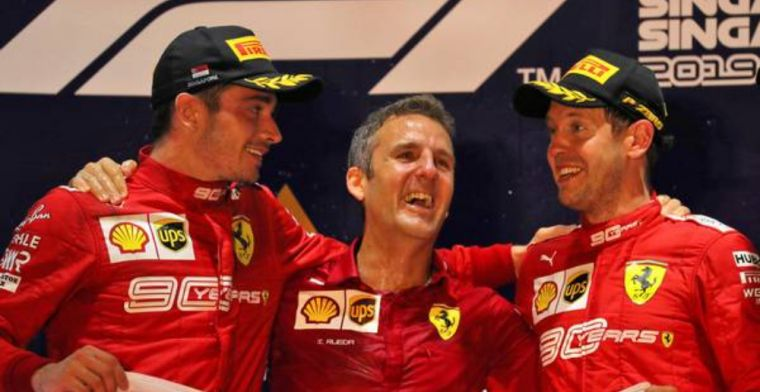 Ferrari thought about switching Vettel and Leclerc in Singapore!