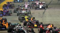 """Afbeelding: Brundle verbaasd: """"Waarom voerden Red Bull en Mercedes de druk niet op?"""""""