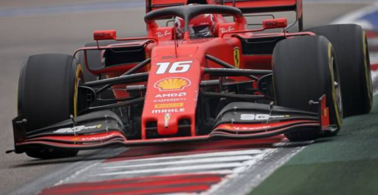 REPORT: Leclerc and Vettel top FP3 in Russia