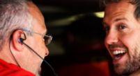 """Afbeelding: Vettel verbaasd: """"Ben ik écht driver of the day?"""""""