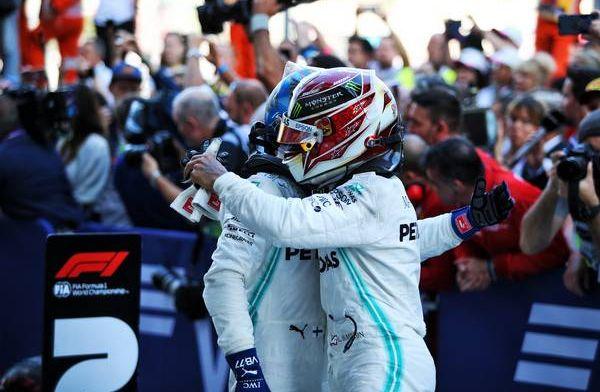 Hamilton praises Bottas for keeping Leclerc behind him