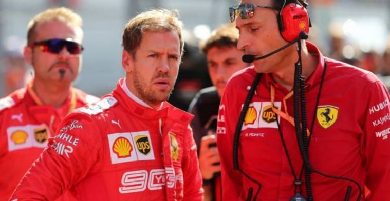 Ferrari release statement on Vettel - Binotto meeting