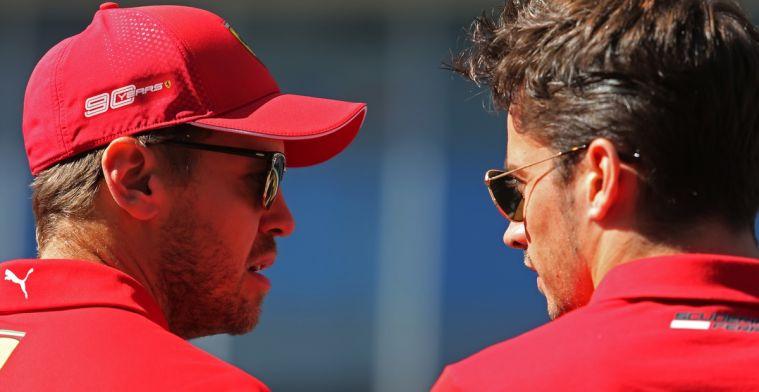 Vettel maakt in 2020 geen kans volgens Villeneuve: Ze willen alleen maar Leclerc