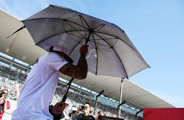 Nat, natter, natst: 219mm neerslag verwacht op zondag Japanse Grand Prix