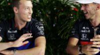 """Afbeelding: Tost grapt over papieren F1-wagen Kvyat: """"Hopelijk rijden we daar zondag niet mee"""""""