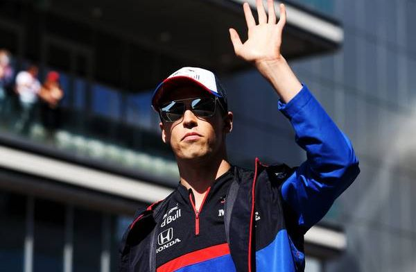 Daniil Kvyat taking positives from disappointing weekend into Japan