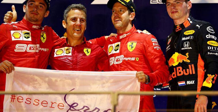 Met Verstappen naast Leclerc zetten bij Ferrari, creëer je je eigen probleem