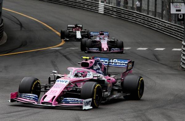 Racing Point hunt down Toro Rosso: The car has improved enormously