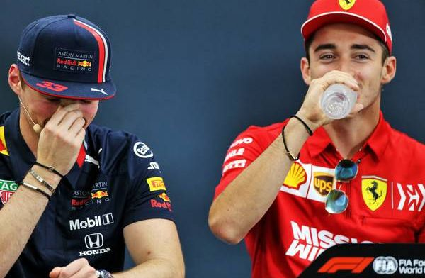 Max Verstappen thinks Charles Leclerc was upset following their clash in Austria