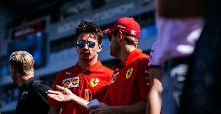 Hamilton kijkt naar Ferrari: Seb was daar de eerste coureur, maar nu...