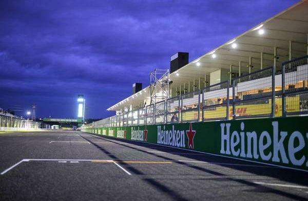 Zo bereidt de Formule 1 zich voor op een tyfoon