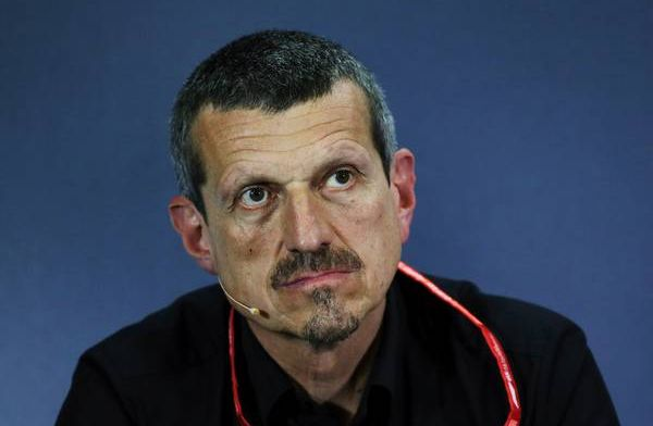 Guenther Steiner pays a  €7,500 penalty to the FIA swear jar!