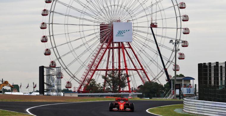 GPS-data suggereert dat Ferrari de motor nog niet heeft opgeschroefd