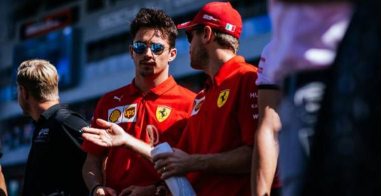 Vettel: It's a bit early to say Leclerc his quickest teammate