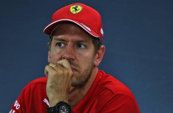 Vettel over de imposante prestaties van Mercedes: 'Ze naderen perfectie'