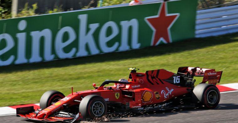 Lammers: Straf voor Leclerc buitenproportioneel laag