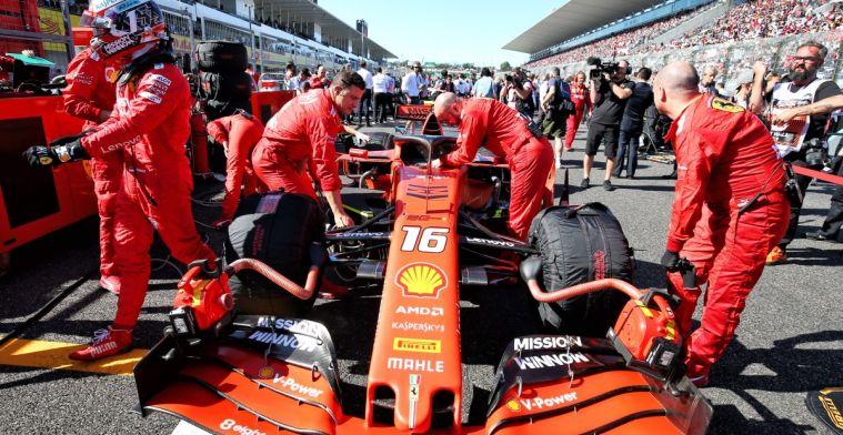Wordt Ferrari door de FIA voorgetrokken? Doornbos twijfelt