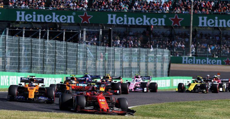 """Doornbos blikt terug op Japanse GP: """"Leclerc wilde zijn verlies niet pakken"""