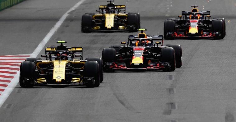 Verstappen over relatie Renault: Je kan niet alles zeggen, anders is het oorlog