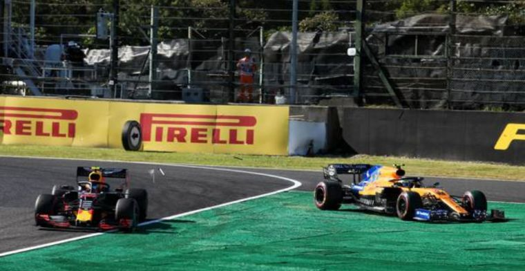 Norris pleased Albon avoided penalty for late Suzuka lunge!