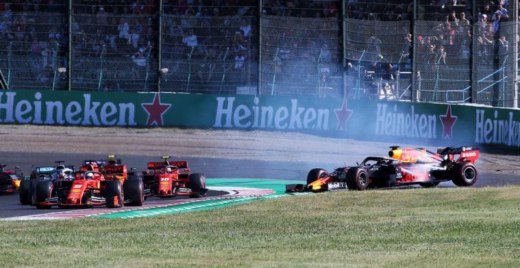 Mol over Verstappen-Leclerc: Ik vind dit geen standaard startongeval