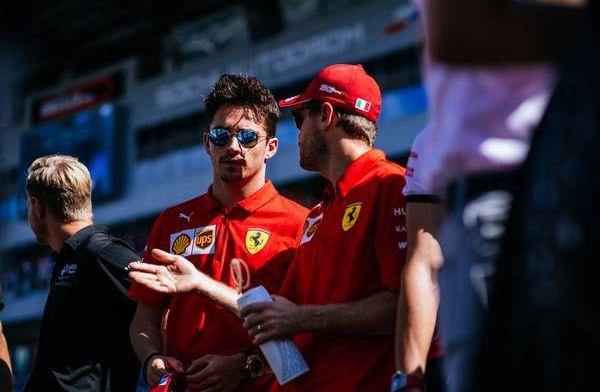 Hamilton: Charles is number 1 at Ferrari