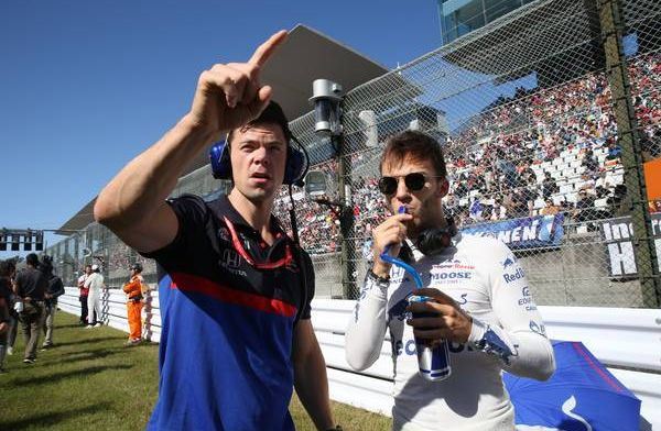 Pierre Gasly very happy with Japanese GP with lack of track-time prior to race