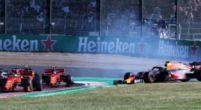 """Afbeelding: Mol over Verstappen-Leclerc: """"Ik vind dit geen standaard startongeval"""""""