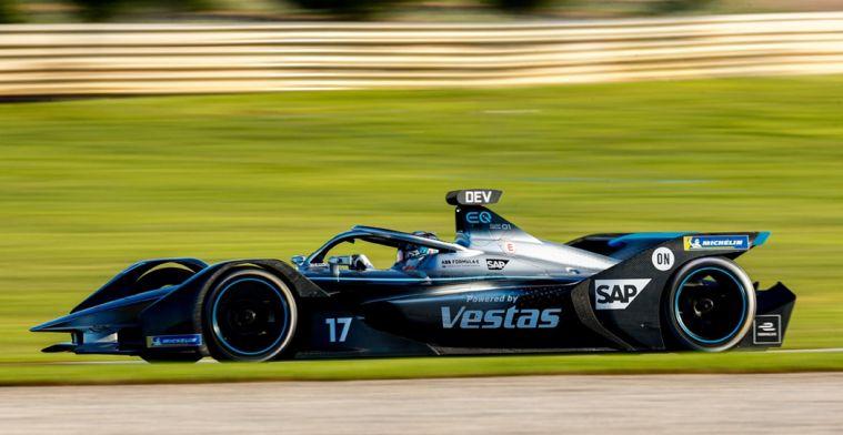 Frijns snelste bij tweede testdag Formule E, De Vries crasht