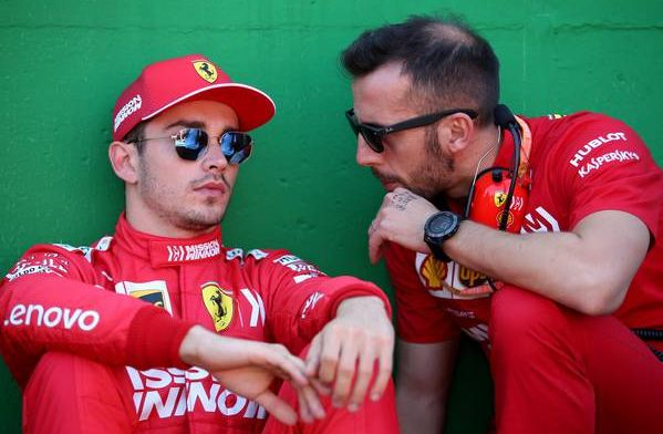 "Charles Leclerc ""lost concentration"" due to Sebastian Vettel's jump start"