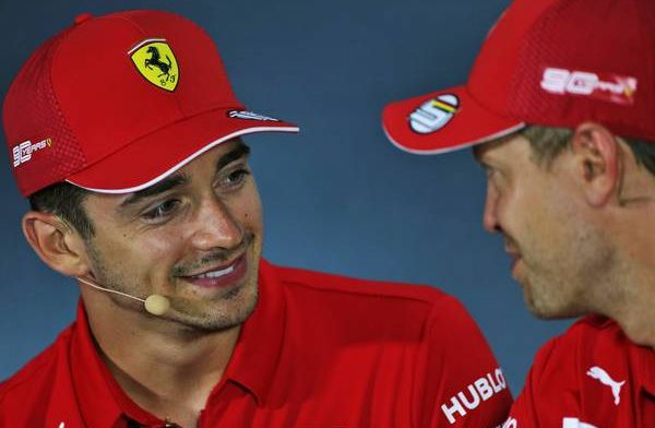 Leclerc ontkent ambities rol eerste coureur bij Ferrari