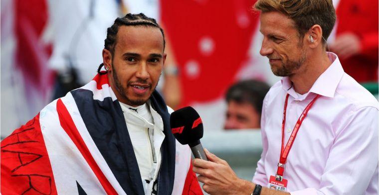 Button: Hamilton kan je niet vergelijken met F1-legendes